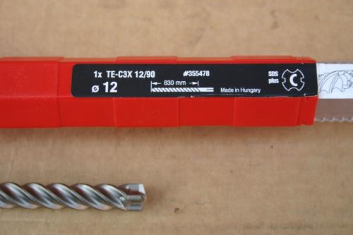 Bohrer Hilti TE-CX 12//90  Bohrer 90cm